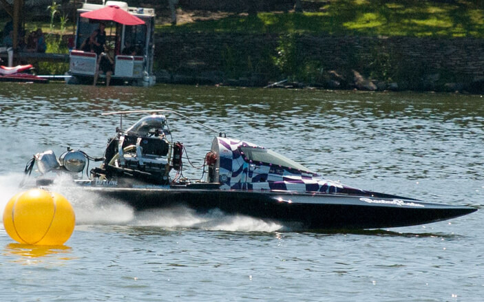 Lake Marble Falls TX Drag Race